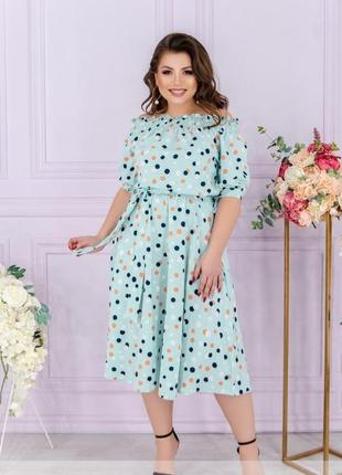 Летнее платье,сарафан размеры 50-56