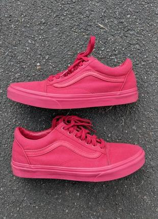 Кроссовки vans old school all red
