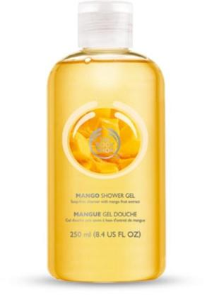 The body shop/shower gel/ гель для душу/гель манго