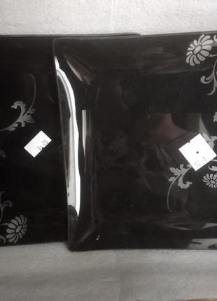 Набор квадратных тарелок 6шт