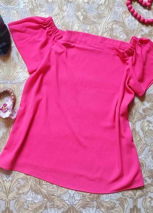 Яркая блуза. на бирке- 18 р-р(52)