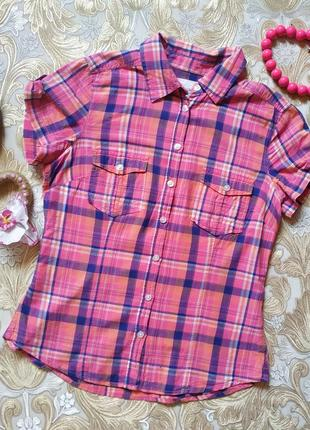 Хорошенькая рубашечка. на бирке- 38 р-р(44)