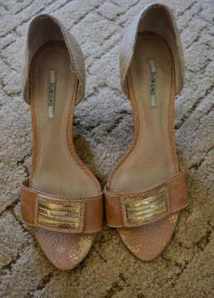 Туфли с открытым носиком от dumond (бразилия), 39 размер