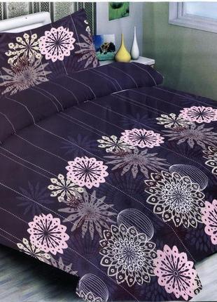 Двуспальный качественный комплект постельного белья