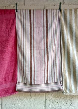 Комплект три полотенца 50*80