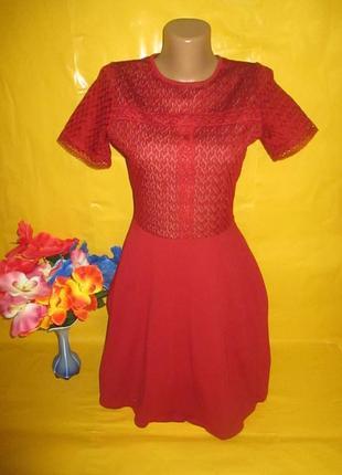Очень красивое женское платье dorothy perkins  рр 10 грудь 41-45 см 96% катон