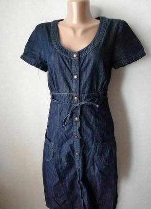 Джинсовое платье mexx