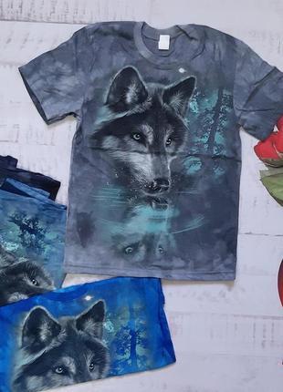Футболка варенка волк