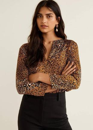 Легкая блуза от mango