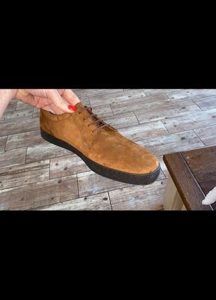 Туфли зара натуральные