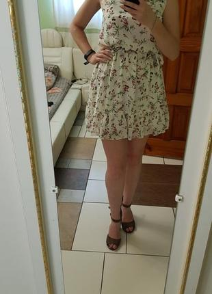 Летнее новое нарядное платье