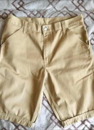 Мужские бежевые шорты carhartt