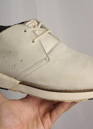 Кроссовки туфли visvim кожа винтаж