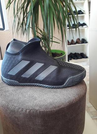 Кросівки для тенісу оригінал adidas stycon laceless clay fv2569