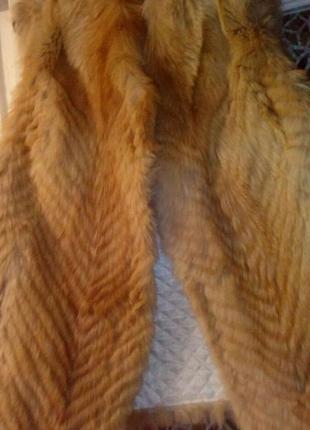 Жилетка из лисы