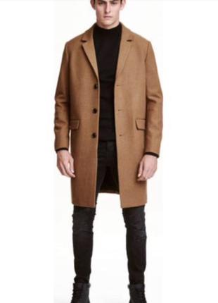 Бежевое мужское пальто jasper conran