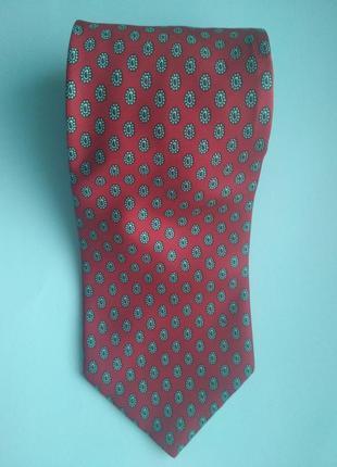 Мужской галстук angelo bosani италия шёлк