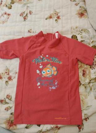 Купальник, футболка для купания