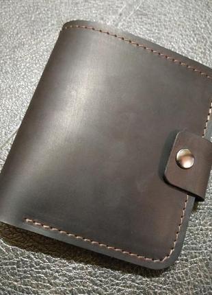 Кошелек кожаный портмоне 0591 ручная работа