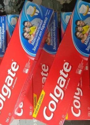 Colgate зубная паста максимальная защита от кариеса