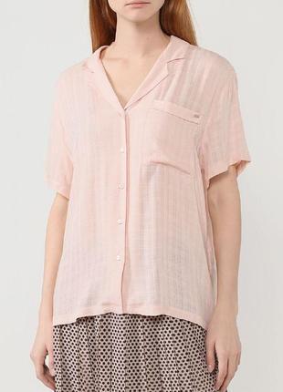 Блуза р ук башка персикового цвета большой размер