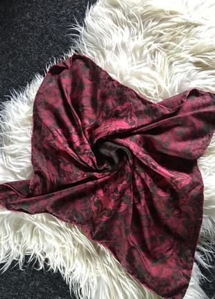 Платок шёлк 100% шелковый натуральный