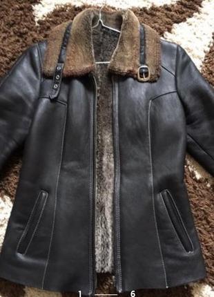 Куртка кожа пилот