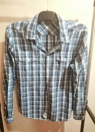 Клетчатая рубашка