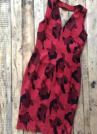H&m платье миди в принт