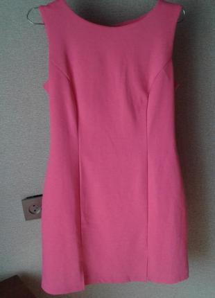Ярко-розовое платье incity,l р..