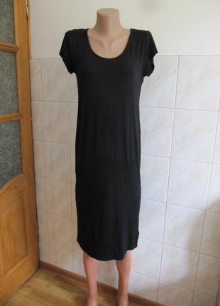 Актуальное черное платье от f&f