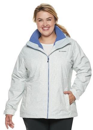 3xl, 4xl, 58, 60 оригинал куртка columbia 3-в-1