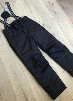 Лыжные штаны комбинезон himalaya mountain р. m. + респиратор в подарок