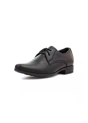 Стильные классические туфли с перфорацией/туфли школьные/под костюм/beckett/англия