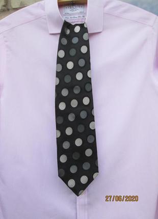 "Брендовый, шелковый галстук "" roberto angelico "". 155 х 9 см. италия."