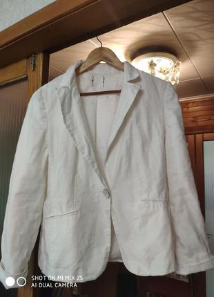 Пиджак лён 💯%