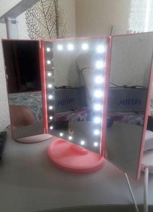Сенсорное led  зеркало