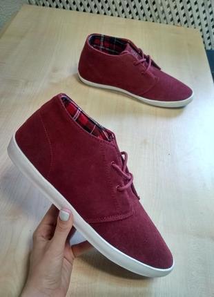 Бордове замшеве взуття u.s. star corp