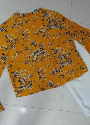 Актуальная блузка primark в цветочный принт, свободный крой