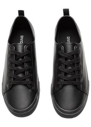Кеды h&m кроссовки черные