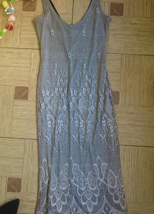 Сарафан сетка , женское летнее платье