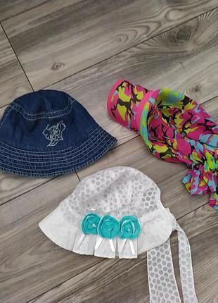 Панамка кепка шляпка для девочки на лето