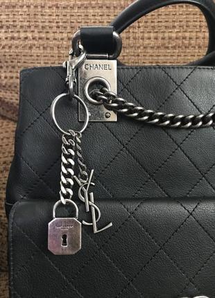 Фурнитура брелок подвеска сумка yves saint laurent ysl