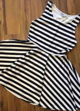 Платье new look 12-13лет/ тельняшка/полосатое