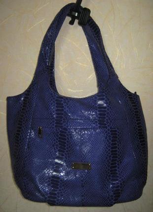Новая сумка из экозамши с лазерной обработкой