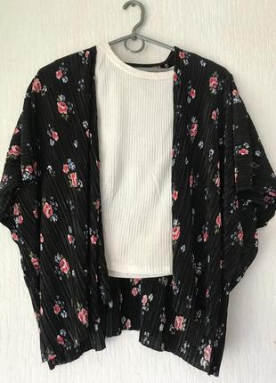 Стильна накидка-блуза