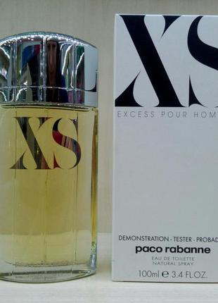 Paco rabanne xs пако рабанн рабан хс икс эс тестер оригинал туалетная вода