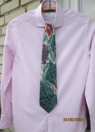"""Стильный, шелковый галстук """" massimo datti """". 145 х 9.5 см. италия."""