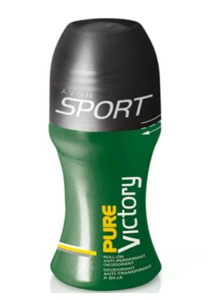 Avon sport pure victory  шариковый дезодорант-антиперспирант  50 ml