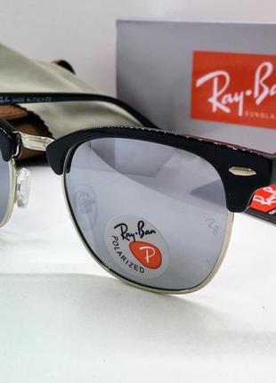 Ray ban зеркальные солнцезащитные очки линзы polarized